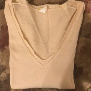 J Crew 3/4 Sleeve Cashmere Sweater